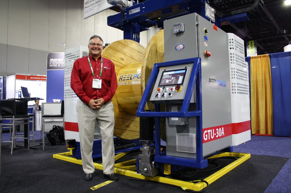 Reel Power Industrial Introduces the New GTU-30A Heavy Duty 24/7 Manufacturing Take Up
