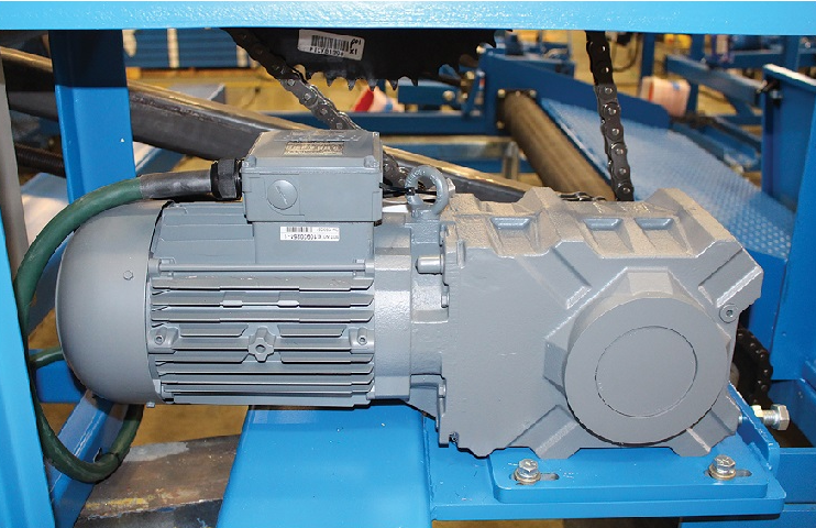 Reel Power relies on advanced PMSM technology from Bauer Gear Motor